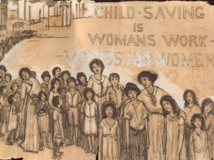 child_saving_is_womans_work