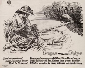 Ernest Fuhr Sugar Means Ships ca 1918