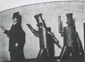 Depero costumes for ballet