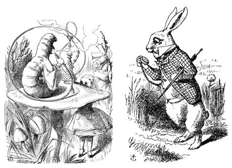 Alice's Adventures in Wonderland,  Illustration John Tenniel London, 1865