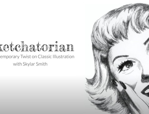 SKETCHATORIAN: A Contemporary Twist on Classic Illustration