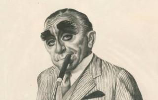 Self Portrait by Al Dorne