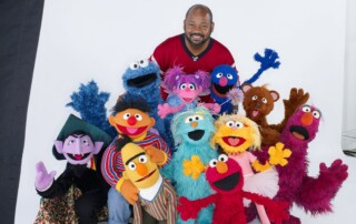 20 Louis Mitchell with the Muppets, n.d.