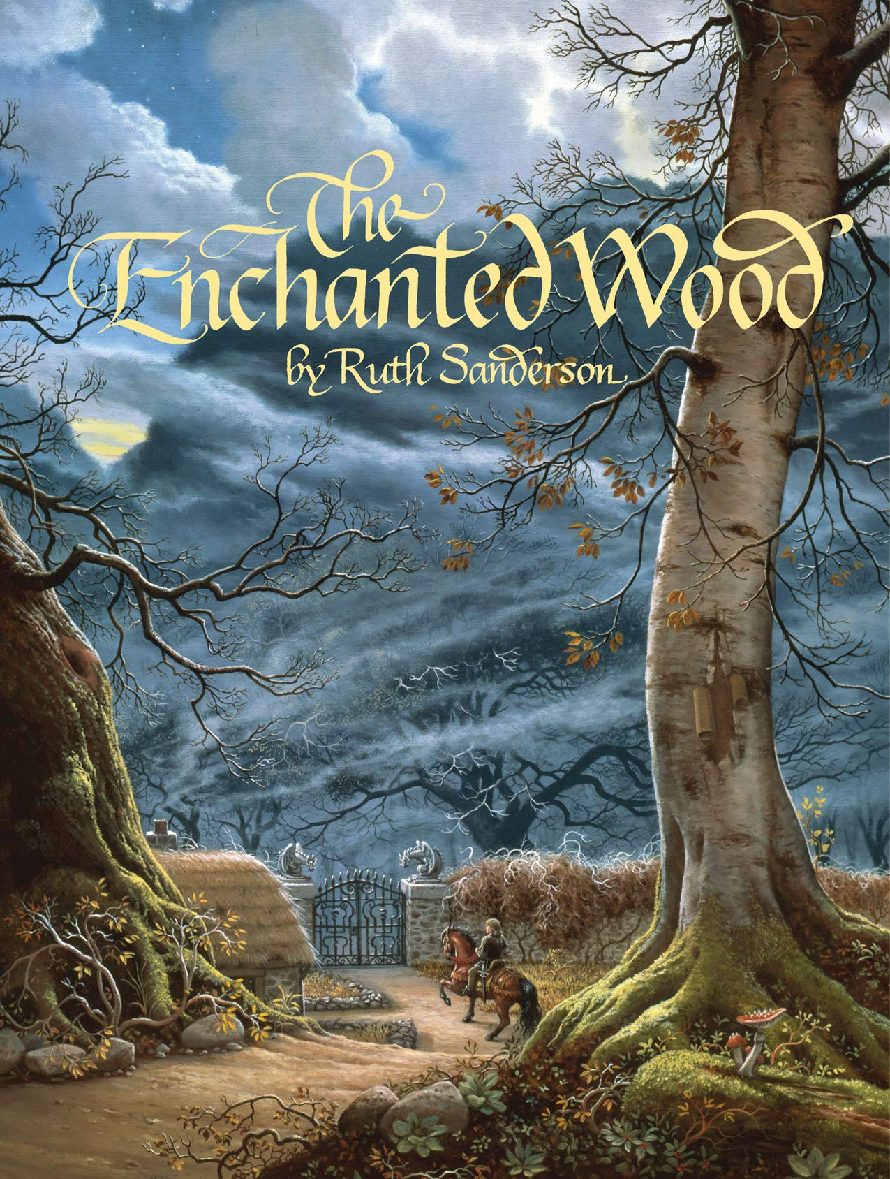 2. Ruth Sanderson, The Enchanted Wood cover, 1991