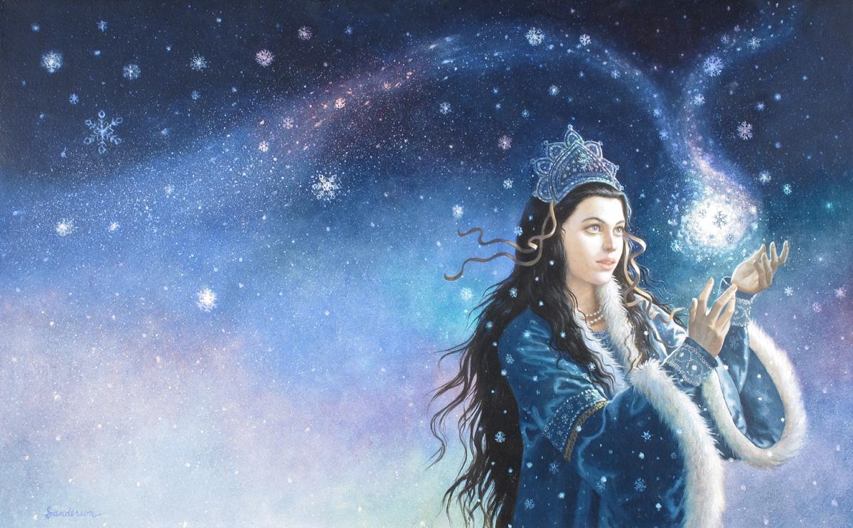 3. Ruth Sanderson, The Snow Princess cover, 2004