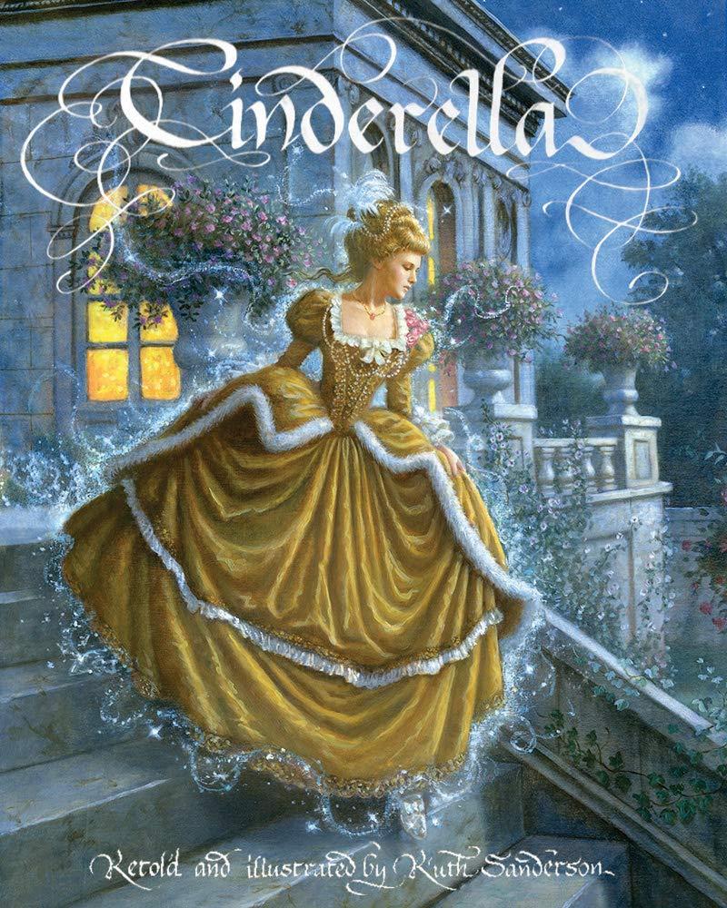 5. Ruth Sanderson, Cinderella cover, 2002