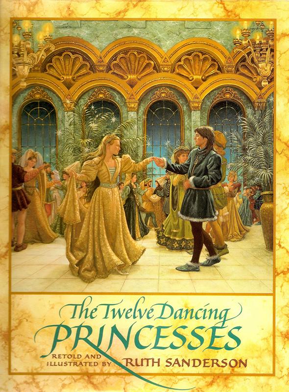 6. Ruth Sanderson, The Twelve Dancing Princesses cover, 1990