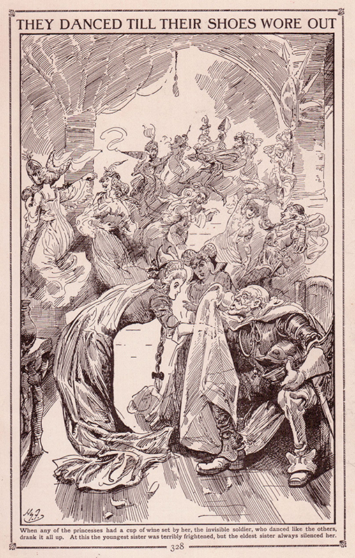"""10. Henry Justice Ford, """"They Danced Till Their Shoes Wore Out,"""" 1912"""