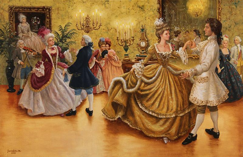18. Ruth Sanderson, Cinderella interior art, 2002